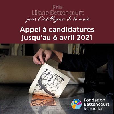 PRIX LILIANE BETTENCOURT POUR L'INTELLIGENCE DE LA MAIN®