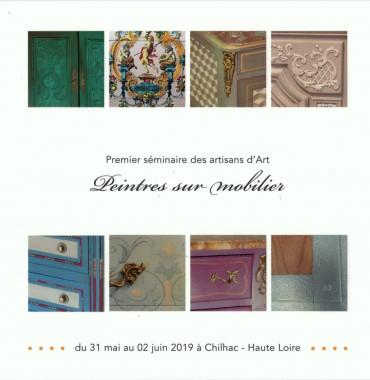 Evenement : Peintres sur mobiliers par Atelier Garance - CRMA