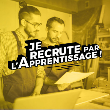 je recrute par l'apprentissage