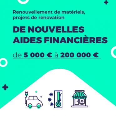 Aides financières tremplin CMA Auvergne-Rhône-Alpes