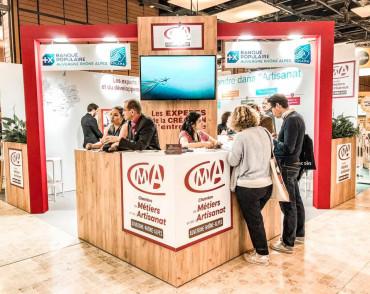 Salon des Entrepreneurs - Chambre Régionale de Métiers et de l'Artisanat Auvergne-Rhône-Alpes